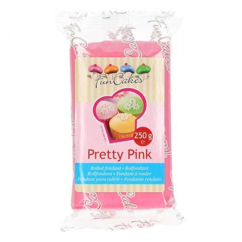 Funcakes sockerpasta, Pretty Pink  250g
