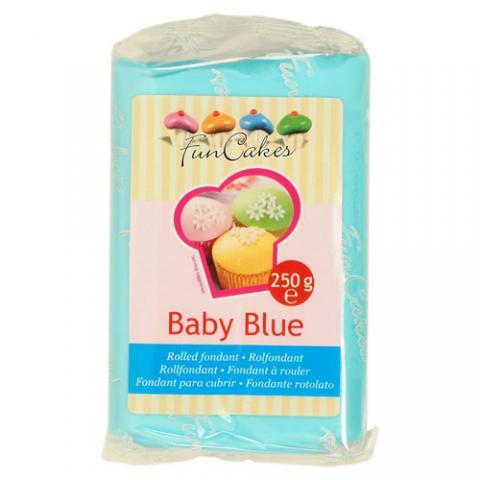 Funcakes sockerpasta, Baby Blue 250g
