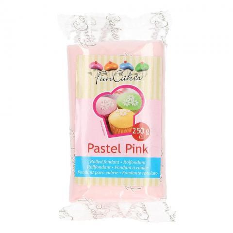 Funcakes sockerpasta, Pastel Pink  250g