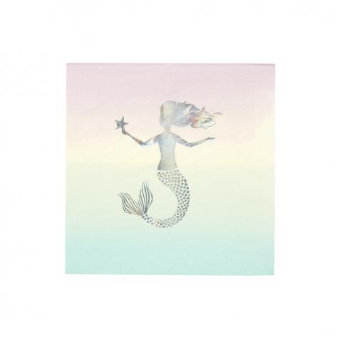 We heart Mermaid, servetter