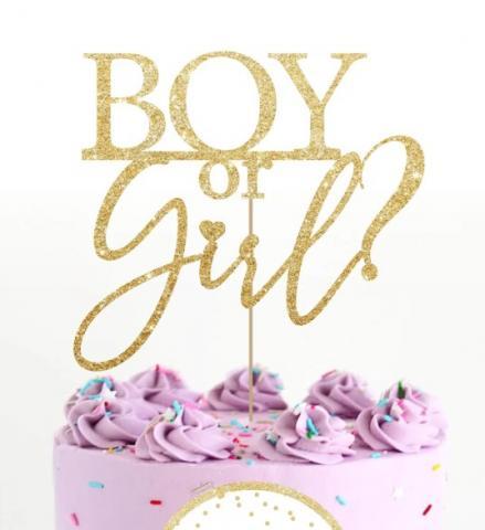 Tårtdekoration, Boy or Girl