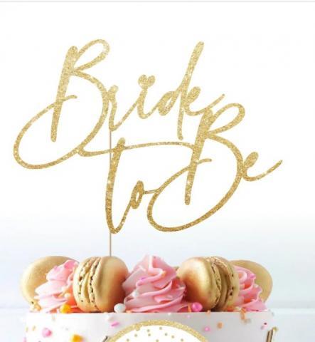 Tårtdekoration, Bride to be