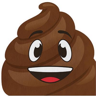 Poop emoji servetter